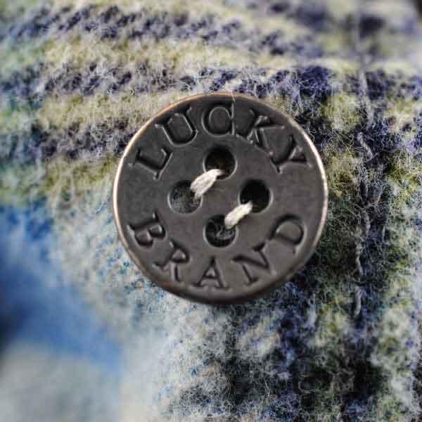 Lucky Brand Metal Button