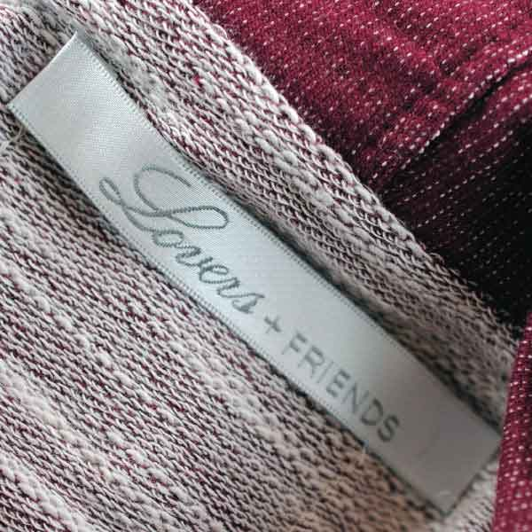 Lovers and Friends Interior Woven Label