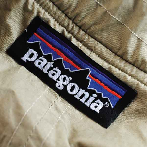 Patagonia Woven Label