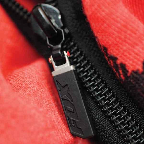 Fox Engraved Plastic Zipper Pull