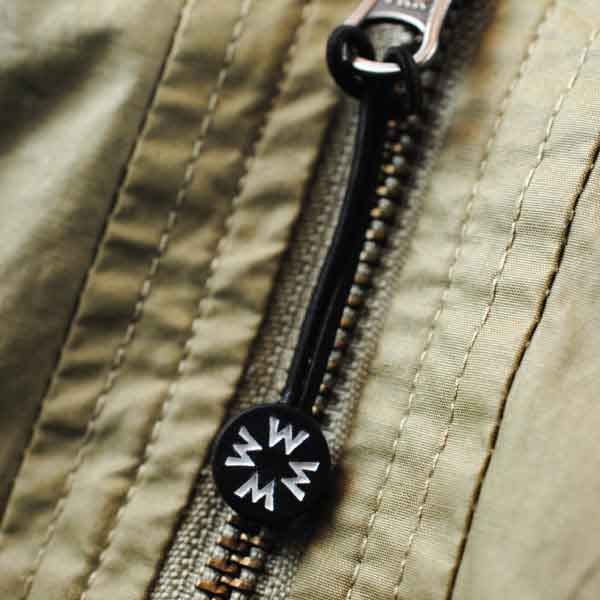 Without Walls Rubber Zipper Pull