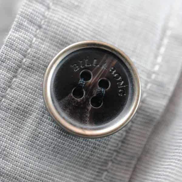 Billabong Metal Plastic Button