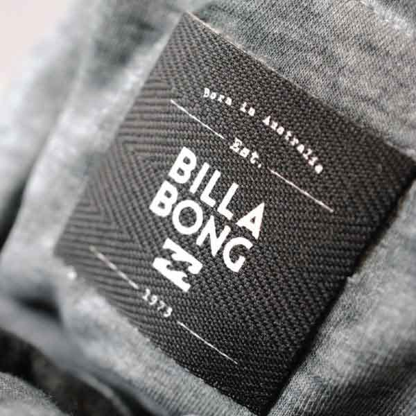Billabong Canvas Printed Label