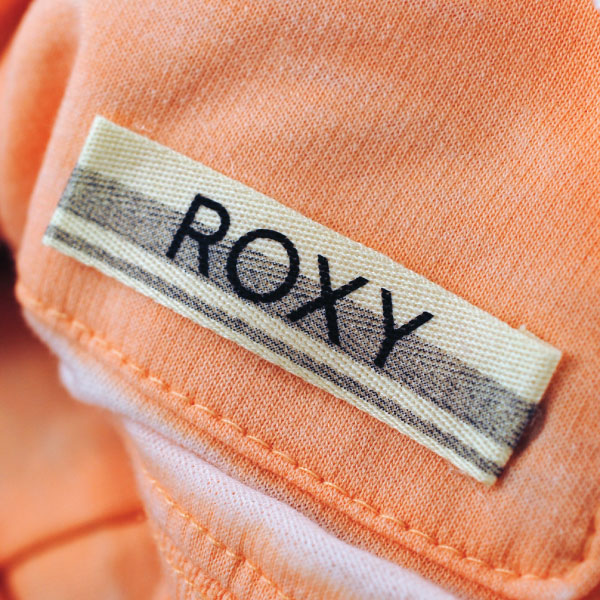 Roxy Canvas Printed Label