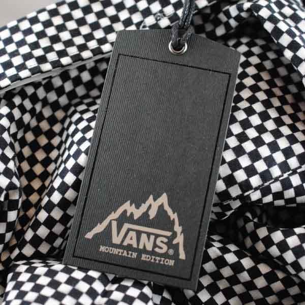 Vans Textured Hangtag