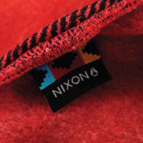 Nixon Flag Woven Label