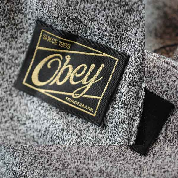 Obey Outer Woven Label