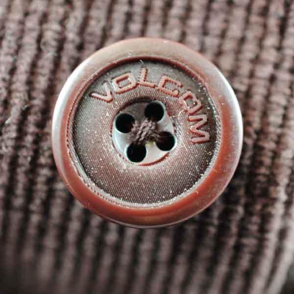 Volcom Plastic Button