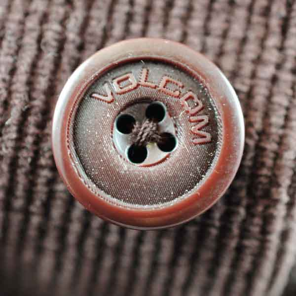 Volcom Plastic Button