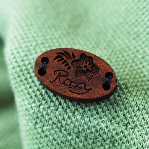 Engraved Roxy Badge