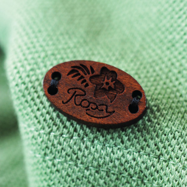 Engraved Roxy Badge