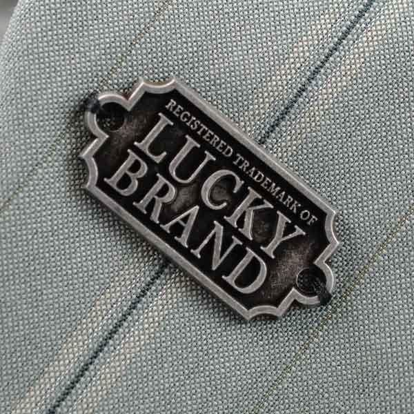 Lucky Brand Metal Plate