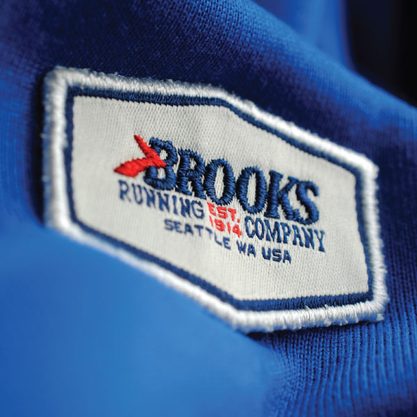 Brooks Embroidered Patch