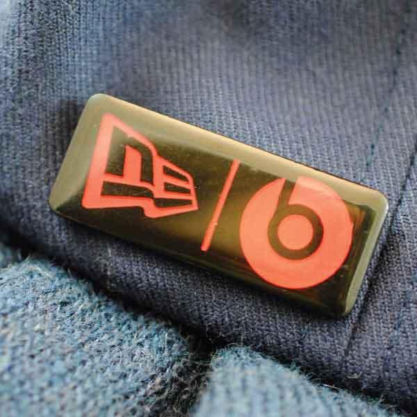 New Era Metal Badge Patch