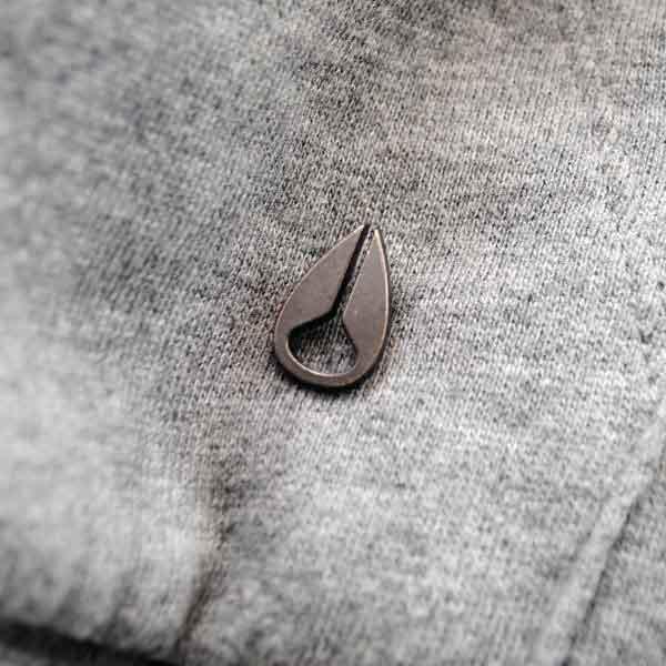 Nixon Metal Rivet Badge