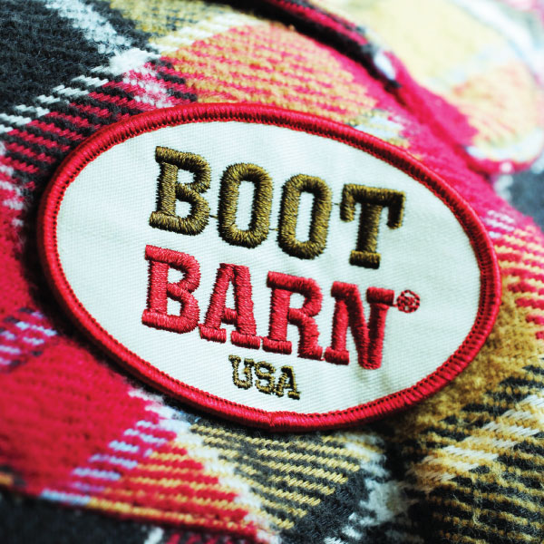 Boot Barn Embroidered Patch