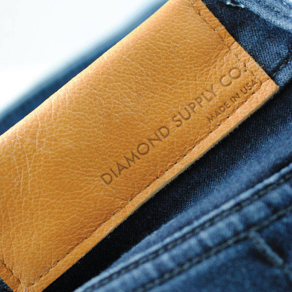 Diamon Supply Co Leather Patch