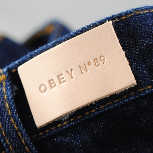Obey Leather Patch
