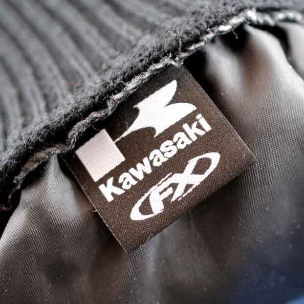 Kawasaki Woven Label