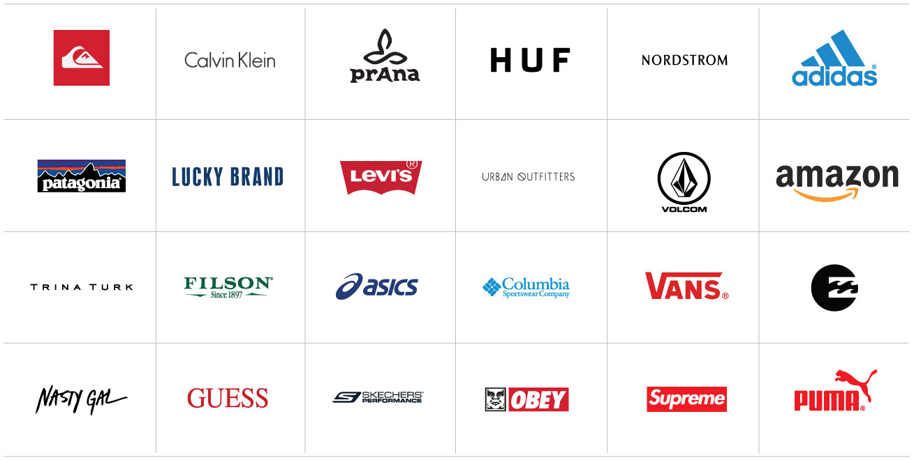 Brands that trust us
